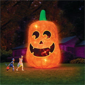 16' Glowing Inflatable Jack O' Lantern-inflatable lantern - www.Gifteee.com - Cool Gifts \ Unique Gifts - The Best Gifts for Men, Women and Kids of All Ages