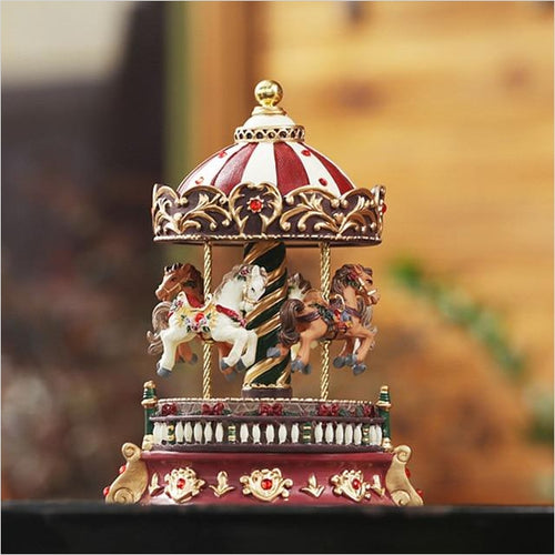 Romantic Carousel music box - Find unique for sound lovers, for music fans, for musicians, composers and everybody that love unique sound related gifts at Gifteee Cool gifts, Unique Gifts for sound and music