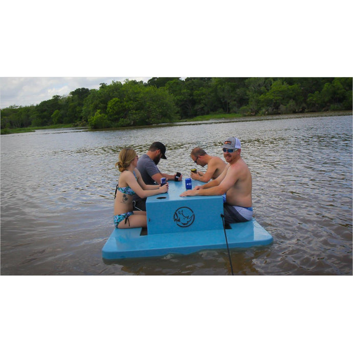 Floating Picnic Table-picnic table - www.Gifteee.com - Cool Gifts \ Unique Gifts - The Best Gifts for Men, Women and Kids of All Ages