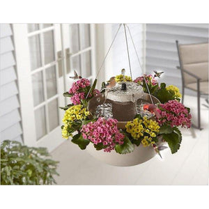 The Bird Bath Hanging Planter