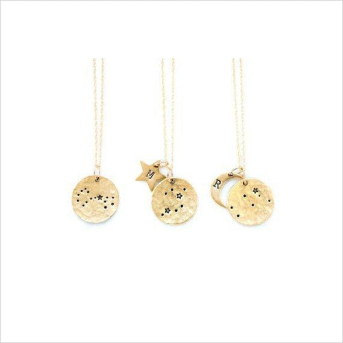 Zodiac Constellation Necklace-necklace - www.Gifteee.com - Cool Gifts \ Unique Gifts - The Best Gifts for Men, Women and Kids of All Ages