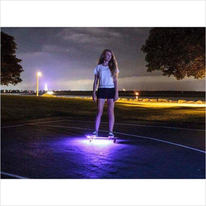 Safety Skateboard Lights-skateboard lights - www.Gifteee.com - Cool Gifts \ Unique Gifts - The Best Gifts for Men, Women and Kids of All Ages