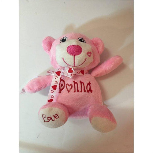 Valentine's Day Personalized Plush Animal-plush - www.Gifteee.com - Cool Gifts \ Unique Gifts - The Best Gifts for Men, Women and Kids of All Ages