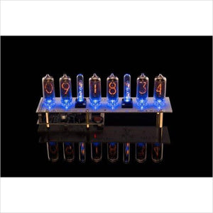 Nixie Tubes Clock-tubes clock - www.Gifteee.com - Cool Gifts \ Unique Gifts - The Best Gifts for Men, Women and Kids of All Ages