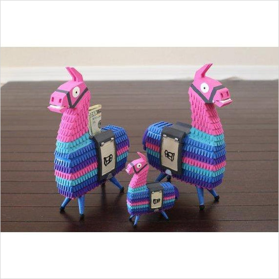 Loot LLama Pinata Battle Royale 3D Printed Coin Bank - Find Fortnite Battle Royale and Fortnite Chapter 2 Gifts for Fortnite Fans, and Epic games official gifts at Gifteee Unique Gifts, Cool gifts for kids and gamers
