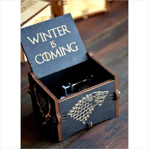 Game of Thrones Music Box-music box - www.Gifteee.com - Cool Gifts \ Unique Gifts - The Best Gifts for Men, Women and Kids of All Ages