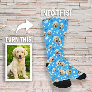 Custom Pet Socks-pet socks - www.Gifteee.com - Cool Gifts \ Unique Gifts - The Best Gifts for Men, Women and Kids of All Ages