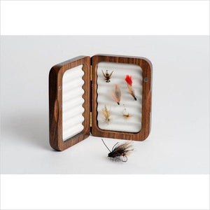 Personalized Fly Fishing Box-fly fishing box - www.Gifteee.com - Cool Gifts \ Unique Gifts - The Best Gifts for Men, Women and Kids of All Ages