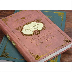 Harry Potter Inspired Notebook, Wicca / Spells Notebook-notebook - www.Gifteee.com - Cool Gifts \ Unique Gifts - The Best Gifts for Men, Women and Kids of All Ages