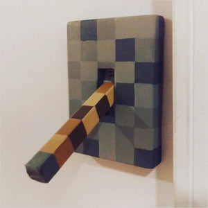 Lever light switch Minecraft style-light switch - www.Gifteee.com - Cool Gifts \ Unique Gifts - The Best Gifts for Men, Women and Kids of All Ages