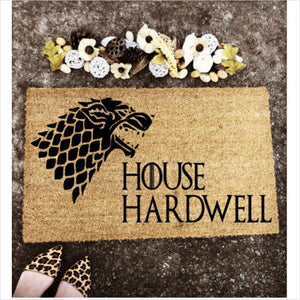Game of Thrones Custom Doormat-doormat - www.Gifteee.com - Cool Gifts \ Unique Gifts - The Best Gifts for Men, Women and Kids of All Ages