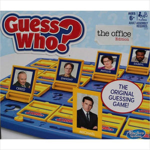 Guess Who? The Office Edition-board game - www.Gifteee.com - Cool Gifts \ Unique Gifts - The Best Gifts for Men, Women and Kids of All Ages