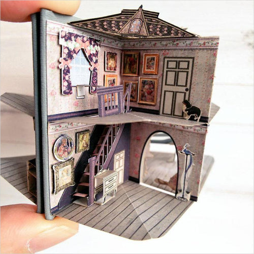 Miniature Pop Up Book - Dolls' House-miniature pop up book - www.Gifteee.com - Cool Gifts \ Unique Gifts - The Best Gifts for Men, Women and Kids of All Ages