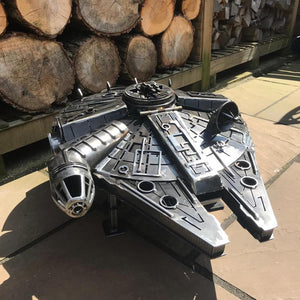 Star Wars - Millennium Falcon - Fire Pit - Gifteee. Find cool & unique gifts for men, women and kids