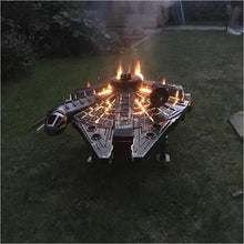 Load image into Gallery viewer, Star Wars - Millennium Falcon - Fire Pit - Gifteee. Find cool & unique gifts for men, women and kids