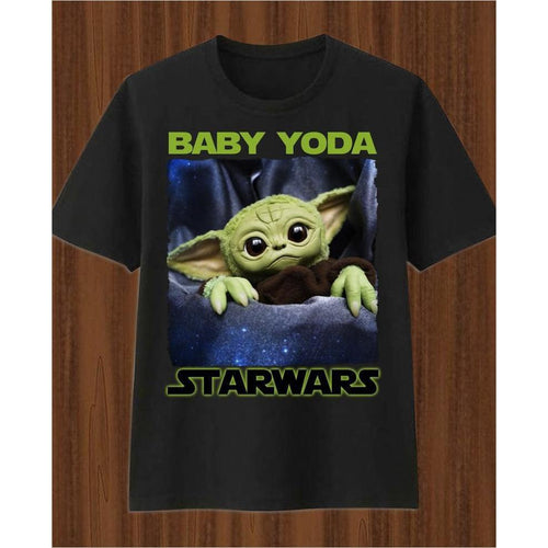 Star Wars - Baby Yoda Shirt - Find unique gifts for Star Wars fans, new star wars games and Star wars LEGO sets, star wars collectibles, star wars gadgets and kitchen accessories at Gifteee Cool gifts, Unique Gifts for Star Wars fans
