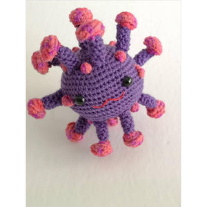 Crocheted coronavirus plush toy-corchet - www.Gifteee.com - Cool Gifts \ Unique Gifts - The Best Gifts for Men, Women and Kids of All Ages