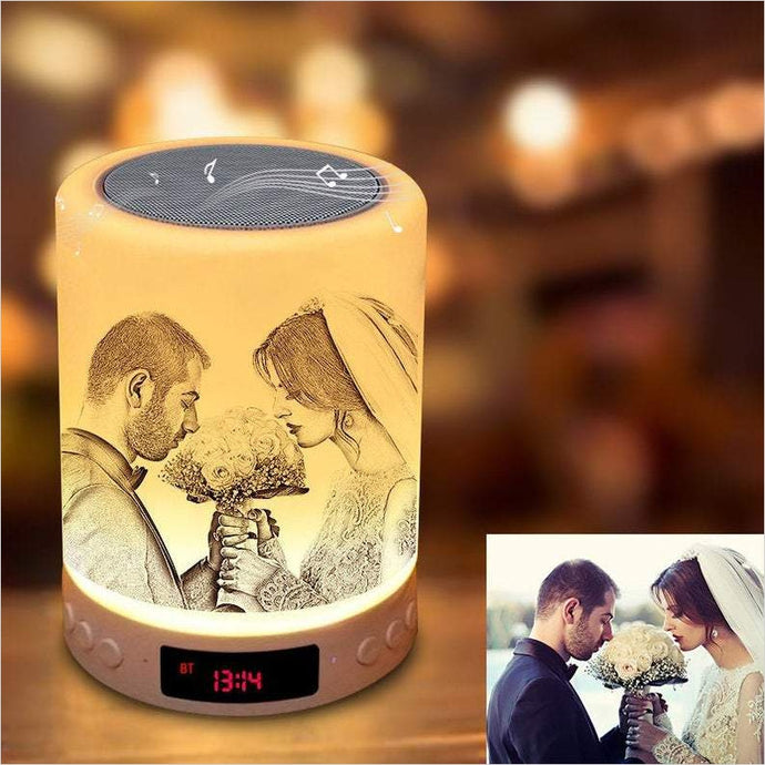Personalized 3D Photo Lamp - Gifteee. Find cool & unique gifts for men, women and kids
