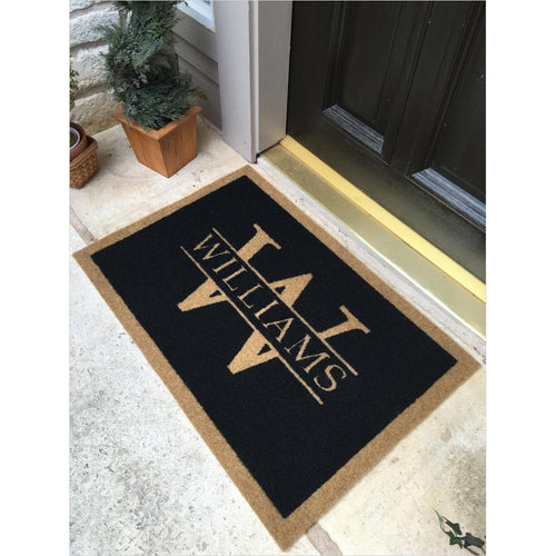 Customized Elegant Door Mat - Gifteee. Find cool & unique gifts for men, women and kids