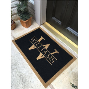 Customized Elegant Door Mat-doormat - www.Gifteee.com - Cool Gifts \ Unique Gifts - The Best Gifts for Men, Women and Kids of All Ages