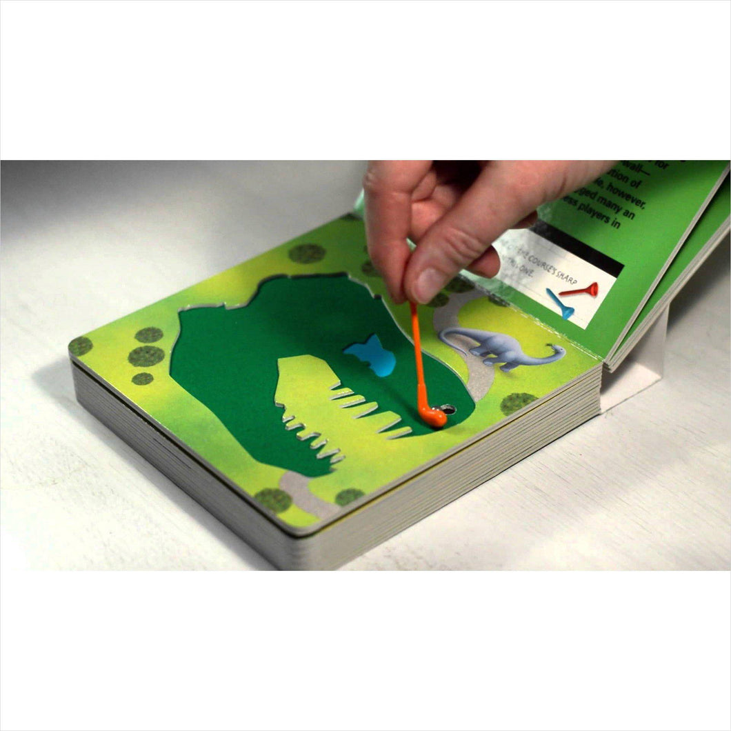 The Miniature Book of Miniature Golf-book - www.Gifteee.com - Cool Gifts \ Unique Gifts - The Best Gifts for Men, Women and Kids of All Ages
