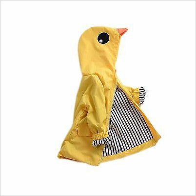Duck Raincoat - Find unique gifts for a newborn baby and cool gifts for toddlers ages 0-4 year old, gifts for your kids birthday or Christmas, special baby shower gifts and age reveal gifts at Gifteee Unique Gifts, Cool gifts for babies and toddlers
