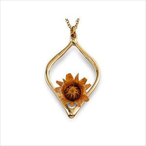 Blessing Flower Gold Balance Necklace - Find beautiful jewelry and accessories for women, teen girls and girls in all ages from 24k gold jewelry to children jewelry. necklaces, earrings, rings, engagement rings, unique jewelry for valentine's day at Gifteee Special gifts, Beautiful gifts for women