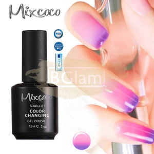 Mixcoco Soak-Off UV Gel Nail Polish Color Changing Collection