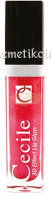 Cecile Lip Gloss - 3D Effect Lip Gloss