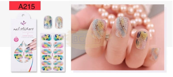 Radiance series nail stickers - A215