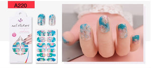 Nail Stickers - Radiance series nail stickers - A220