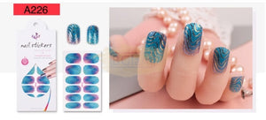 Nail Stickers - Radiance series nail stickers - A226