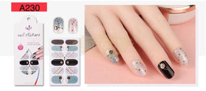 Nail Stickers - Radiance series nail stickers - A230