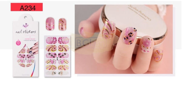 Radiance series nail stickers - A234