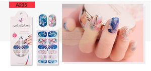 Radiance series nail stickers - A235