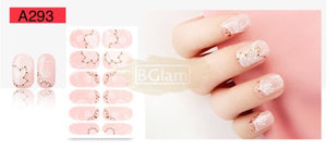 Nail Stickers - Lace series nail stickers - A293