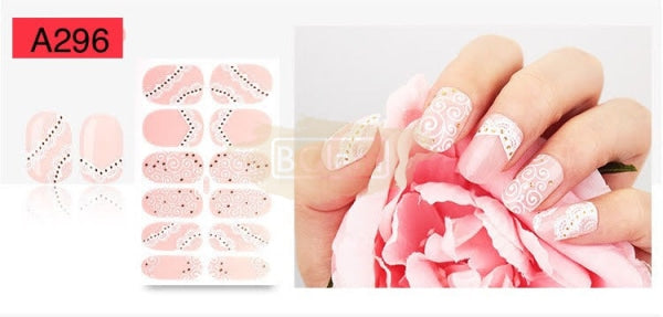 Nail Stickers - Lace series nail stickers - A296