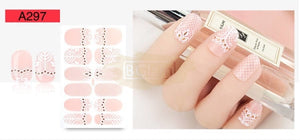 Nail Stickers - Lace series nail stickers - A297