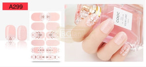 Nail Stickers - Lace series nail stickers - A299