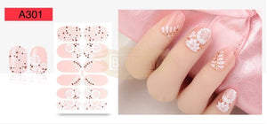 Nail Stickers - Lace series nail stickers - A301