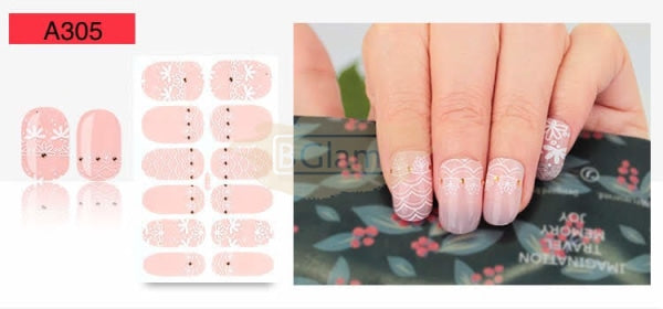 Nail Stickers - Lace series nail stickers - A305