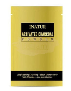 Inatur Charcoal Powder (Purifying, Detoxifying & Whitening)