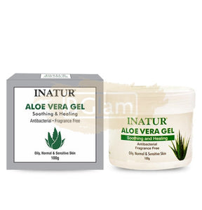 Aloe-Vera Gel - used to treat sunburn, moisturize skin, soothe irritation, prevent skin ageing, treat sunburn and give a radiant glow to the skin