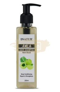 Inatur Amla Hair Repair Shampoo - Deep Conditioning, Repairs & Strengthens