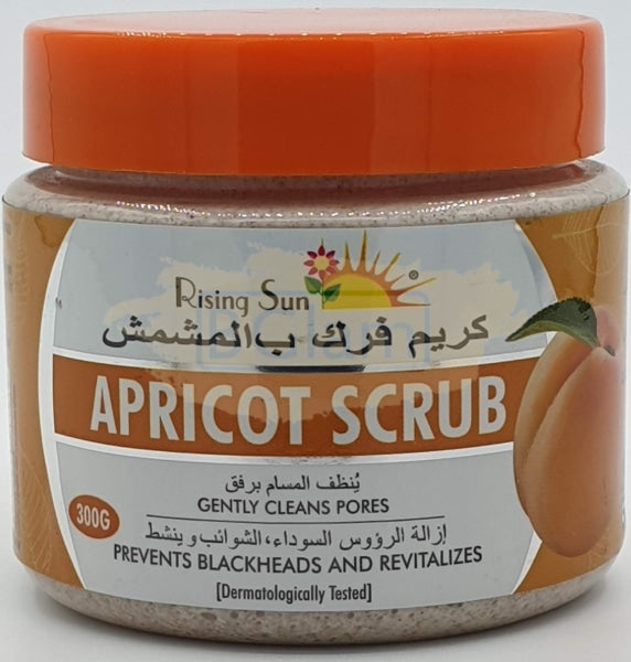 Rising Sun Scrub - Apricot 300g (Prevents blackheads)