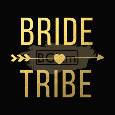 Tattoo Sticker Bridal - Bride Tribe B-001
