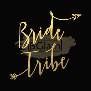 Tattoo Sticker Bridal - Bride Tribe B-005