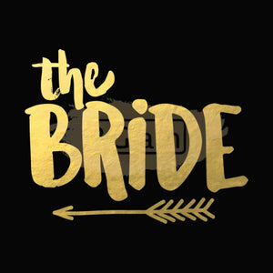Tattoo Sticker Bridal - The Bride B-006