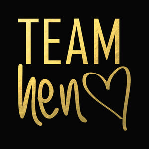 Tattoo Sticker Bridal - Team Hen