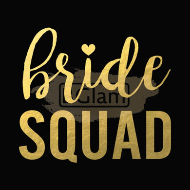 Tattoo Sticker Bridal - Bride Squad